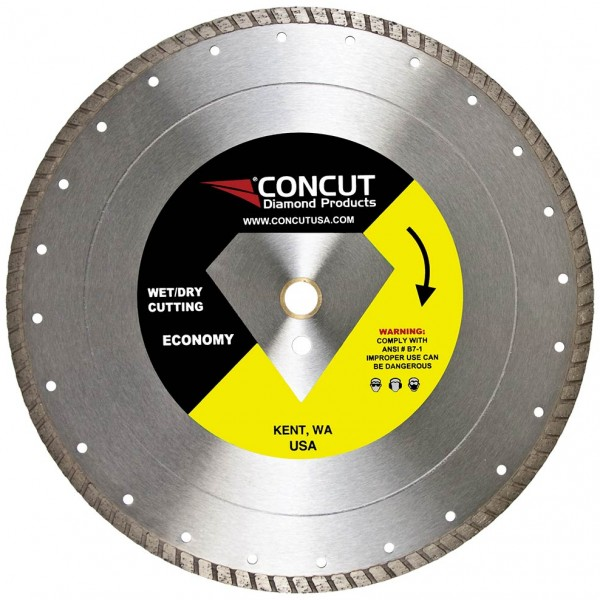 "CONCUT DIAMOND BLADE 10"" TURBO"