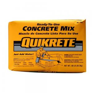 QUIKRETE CONCRETE MIX 80 LBS