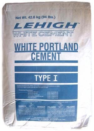 LEHIGH WHITE CEMENT 94 LBS