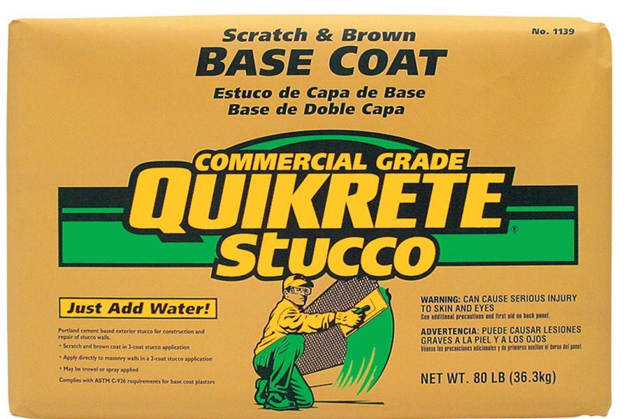 Quikrete Base Coat Stucco 60 Lbs