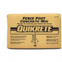 QUIKRETE FENCE POST MIX 80 LBS