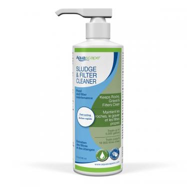 SLUDGE & FILTER CLEANER (LIQUID) 8 OZ