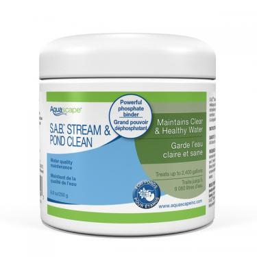 S.A.B. STREAM AND POND CLEANER 8.8 OZ