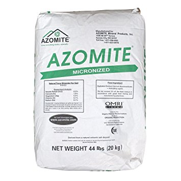 AZOMITE POWDER 44 LBS