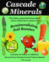 CASCADE MINERALS' REMINERALIZING SOIL BOOSTER